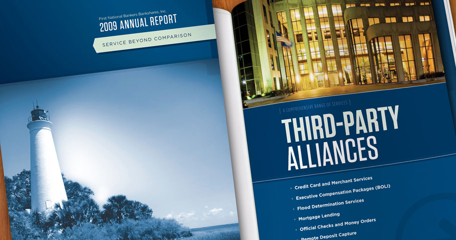 Annual Report for First National Bankers Bank.
